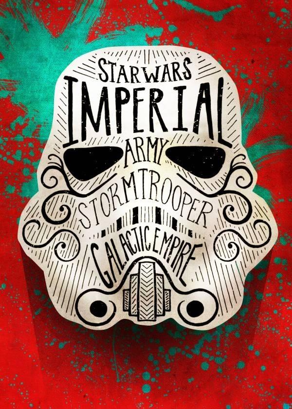 Star Wars Doodle -  Displate