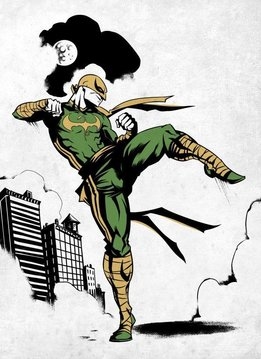 Marvel Iron Fist - Displate