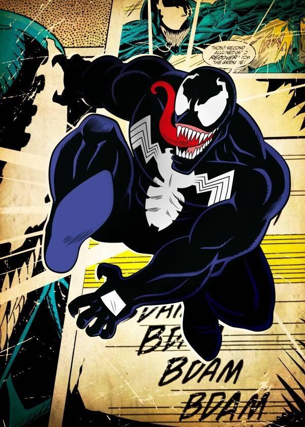 Marvel Venom - Displate