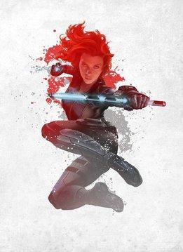 Marvel Black Widow - Displate