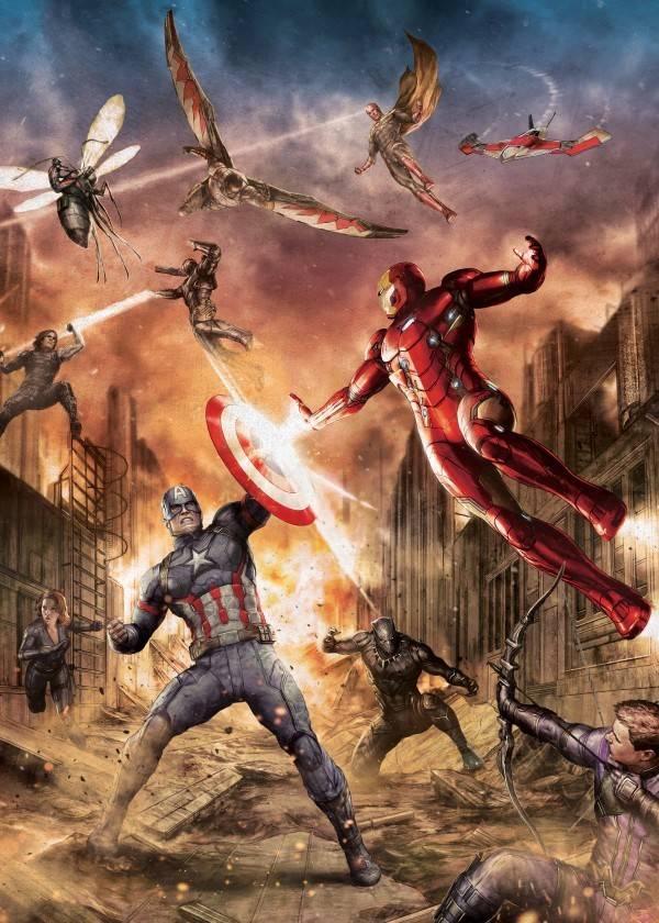 Marvel Battle - Displate