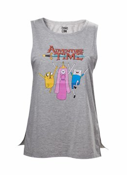 Adventure Time Finn, Jake & Princess Bubblegum - Tank Top