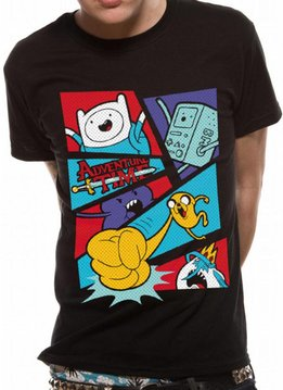 Adventure Time Pop Art - T-Shirt