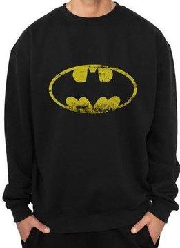 DC Batman Washed Logo - Sweater