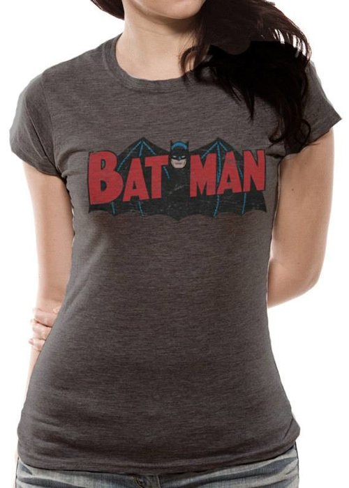 DC Comics Batman Old School Logo 1966 - Female - T-Shirt