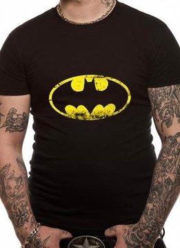 DC Batman Washed Logo - T-Shirt