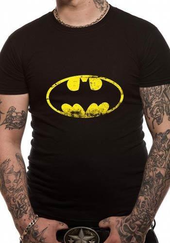 The Lab Merchandising - DC Batman Washed Logo - T-Shirt - The Lab ...