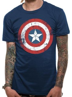Marvel Captain America Shield Washed