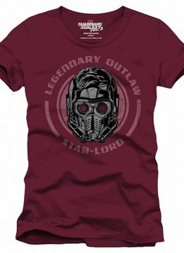 Marvel Guardians of the Galaxy Star-Lord Legendary Outlaw - T-Shirt