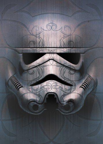 Star Wars Ghost - Masked Troopers Displate