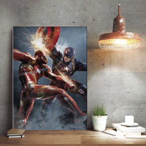 Marvel Duel - Civil War Divided We Fall Displate