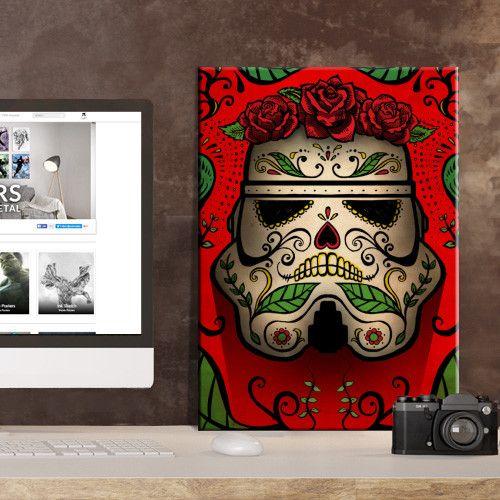 Star Wars Muerte - Masked Troopers Displate