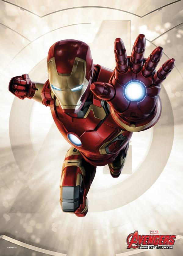 Marvel Iron Man - Age of Ultron Power Poses - Displate