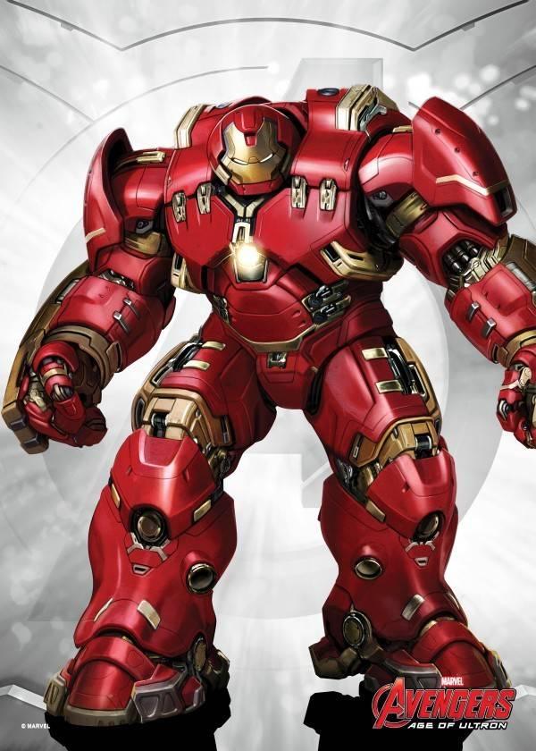 Marvel Hulkbuster - Displate