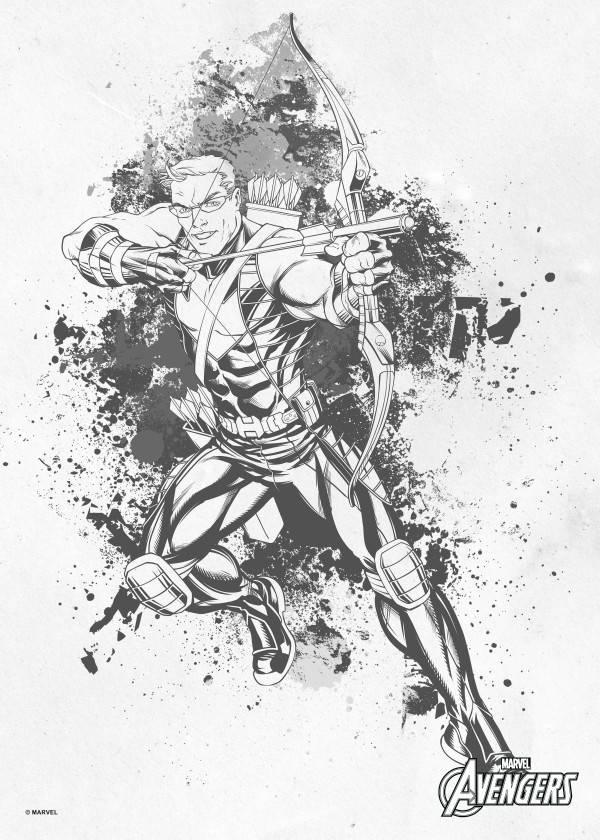 Marvel Hawkeye - Displate