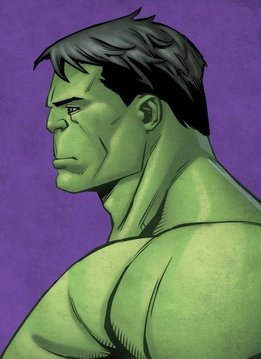 Marvel Hulk - Displate