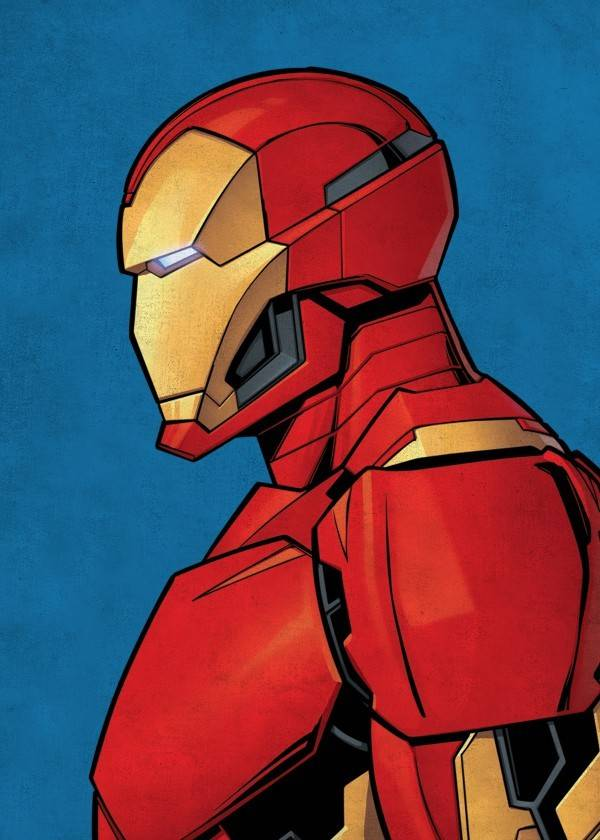 Marvel Iron Man - Displate