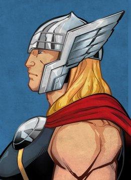 Marvel Thor - Displate