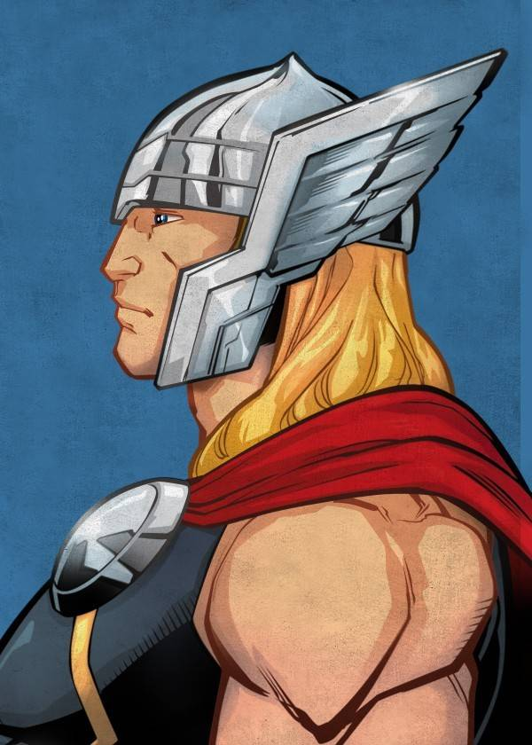 Marvel Thor - Displate