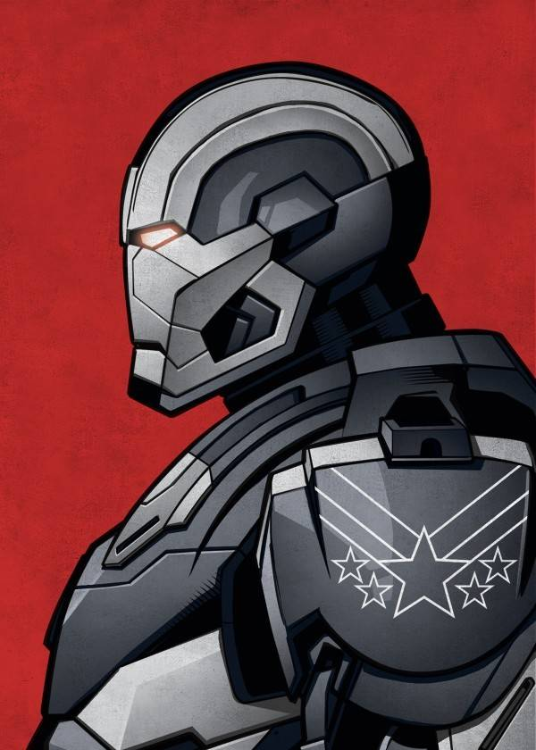 Marvel War Machine - Displate