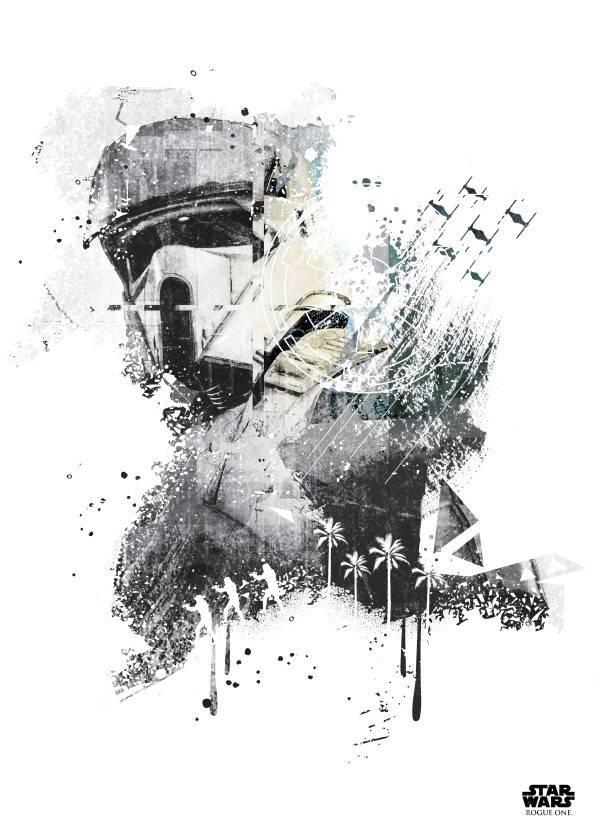 Star Wars Scarif Trooper - Displate
