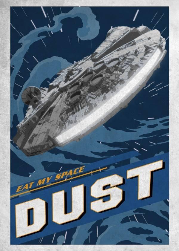 Star Wars Eat my space dust - Displate