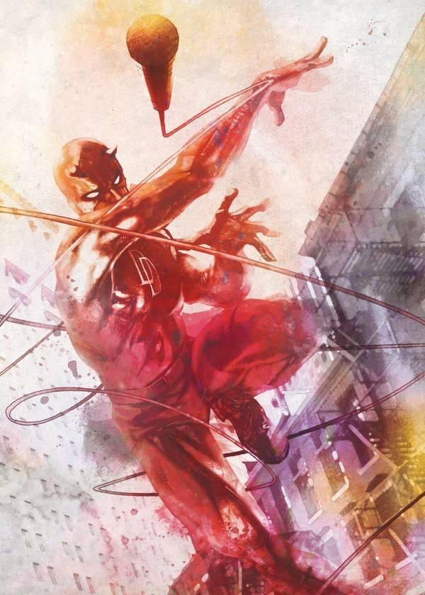 Marvel Daredevil Painting - Displate