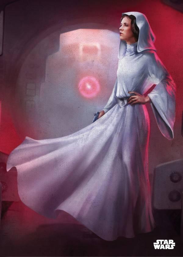 Star Wars Princess Leia Organa - Displate