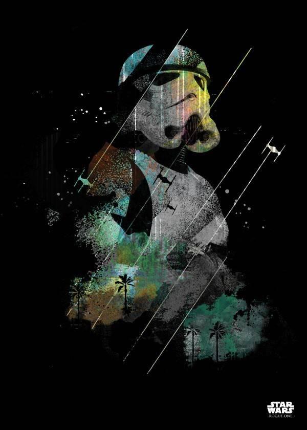 Star Wars Stromtrooper - Rogue One Jammed Transmission - Displate
