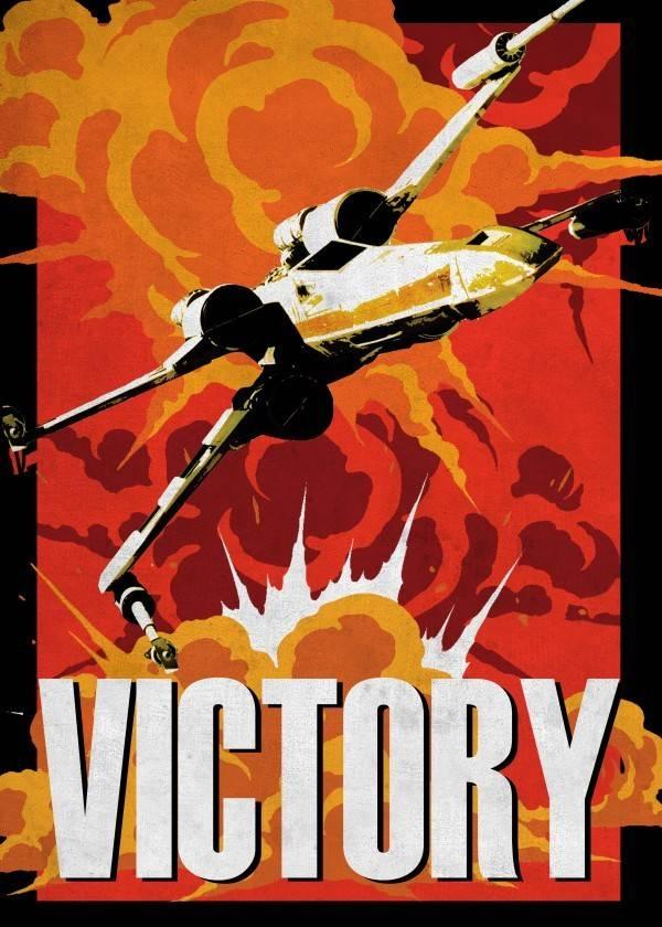 Star Wars Victory - Displate