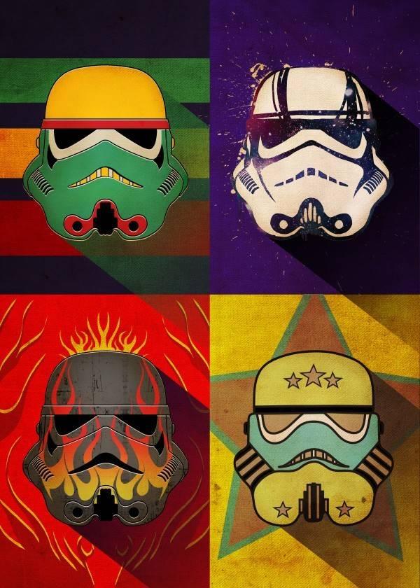 Star Wars Flame Squad   Pop Art Troopers   Displate