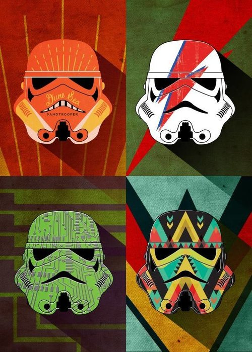 Star Wars Thunder Squad  | Pop Art Troopers