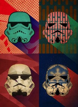 Star Wars Polygon Squad - Pop Art Troopers - Displate