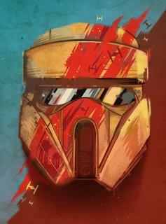 Star Wars Scout - Masked Troopers - Displate