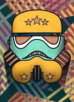 Star Wars Star-Spangled - Masked Troopers - Displate