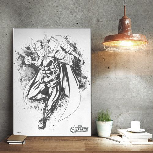 Marvel Thor - Avengers Ink Sketch - Displate