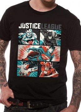 DC Justice League Pop Art - T-Shirt