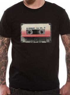 Marvel Guardians of the Galaxy Vol.2 - Tape (61082) - T-Shirt