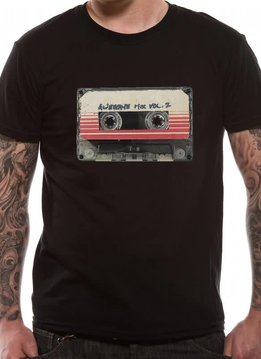 Marvel Guardians of the Galaxy Vol.2 Awesome Mix Tape 2 - T-Shirt
