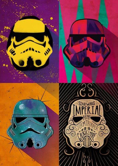 Star Wars Urban Squad   Pop Art Troopers   Displate