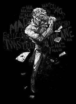 Displate Joker Clown Prince of Crime - DC Dark Edition - Displate