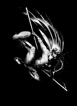 Displate Robin - DC Dark Edition - Displate