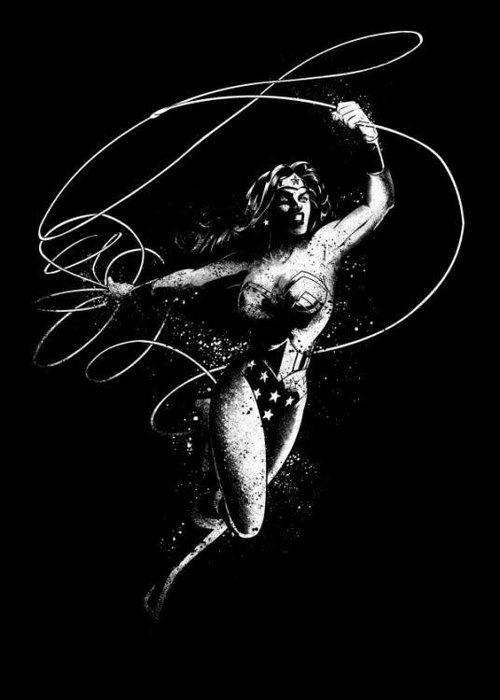 DC Comics Wonderwoman  | DC Dark Edition