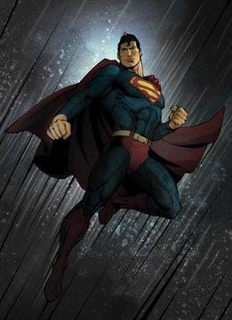 Displate Superman | Forces of Good and Evil | Displate