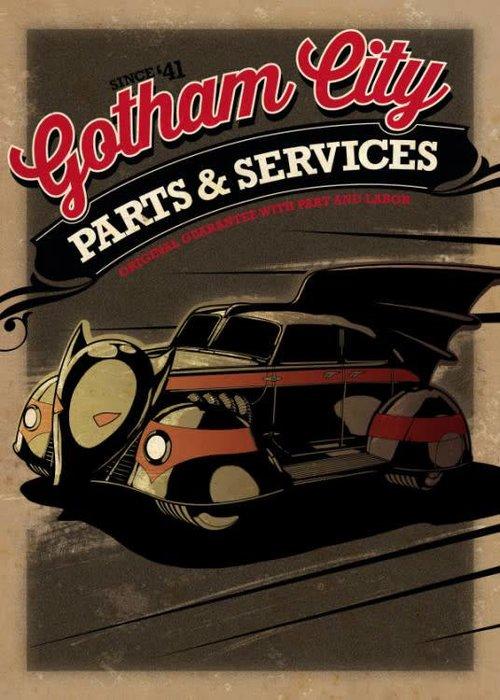 DC Comics Batmobile 1943  | Gotham City Motor Club