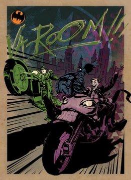 Displate Gotham City MC - Gotham City Motor Club - Displate
