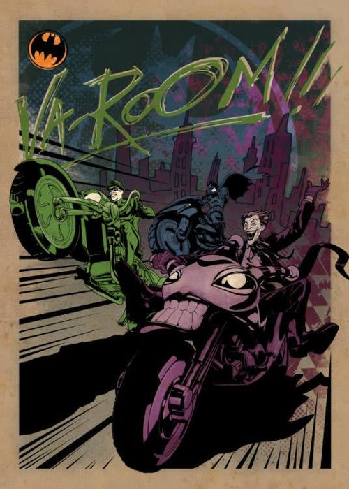 DC Comics Gotham City MC  | Gotham City Motor Club