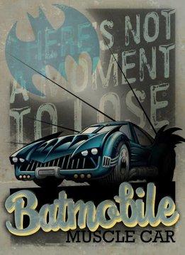 Displate Muscle Car - Gotham City Motor Club - Displate