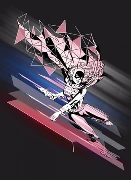 Displate Batgirl - Gotham Protectors - Displate