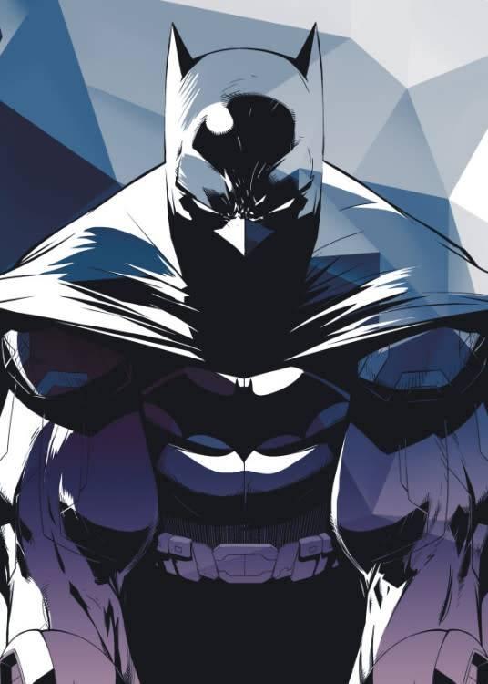 Displate I am Vengeance - Gotham Protectors - Displate